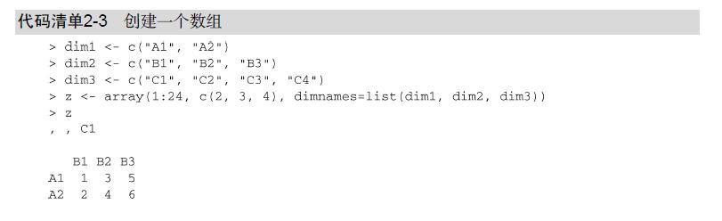 R语言数据分析实战:数据结构(1)